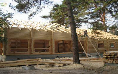 Construction Log Cabine in Ukraine, https://eco-log-house.com/