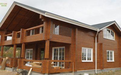 Construction Log Cabine Sofia-Bulgaria house, https://eco-log-house.com/