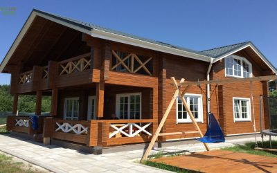 Log Cabine Sofia-Bulgaria house, https://eco-log-house.com/