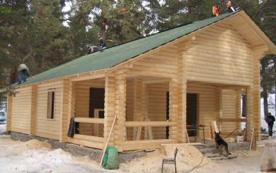 Construction Log Cabine of Kızılcıhamam-Turkey house, https://eco-log-house.com/