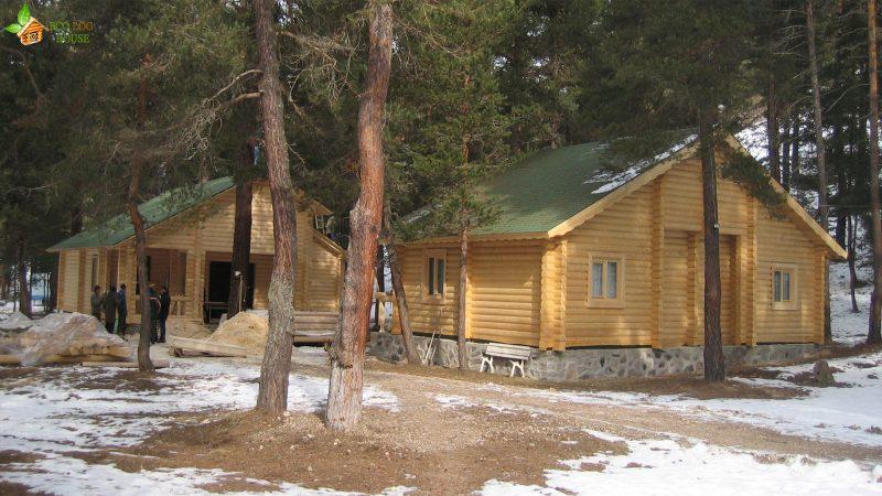 Construct Wood cabin in Kızılcıhamam, Turkey