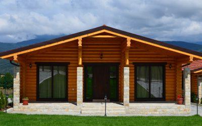 Cozy wood cabin in Bulgaria log-house.com