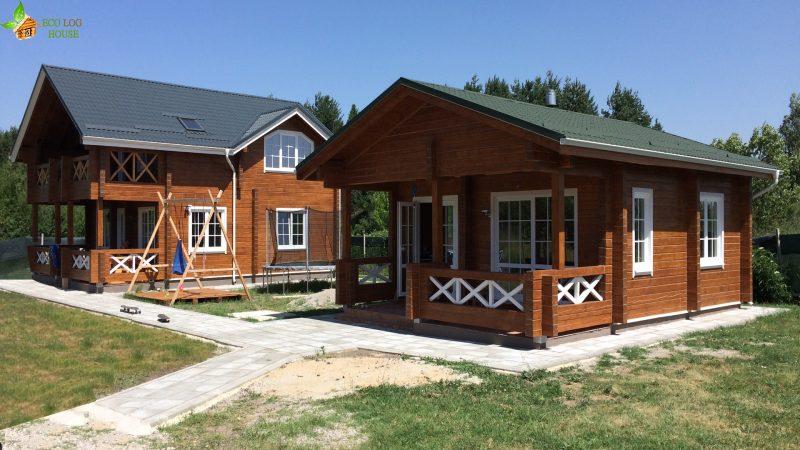Wood cabin in Sofia, Bulgaria https://eco-log-house.com/