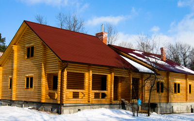 Wood cabin in Turkey log-house.com