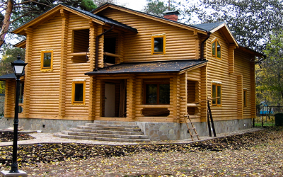 Wood cabin in Poland log-house.com
